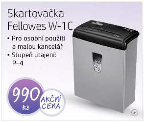 Skartovačka Fellowes