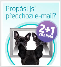 Emailing - 2+1 ZDARMA