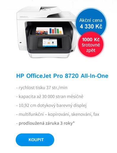 Multifunkce HP All-in-One Officejet Pro 8720