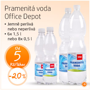 Pramenitá voda Office Depot