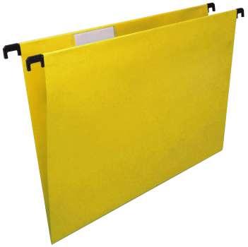 Závěsné papírové desky  Niceday, žlutá, 25 ks