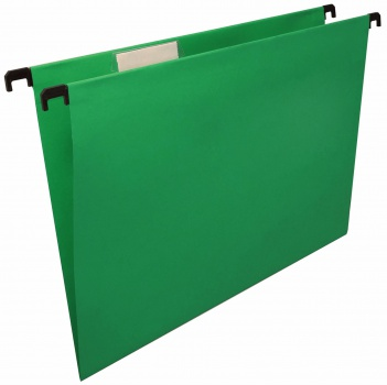 Závěsné papírové desky  Niceday, zelená, 25 ks
