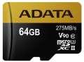 ADATA Micro SDXC Premier One 64GB UHS-I U3
