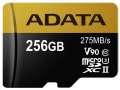 ADATA Micro SDXC Premier One 256GB UHS-I U3 + SD adaptér