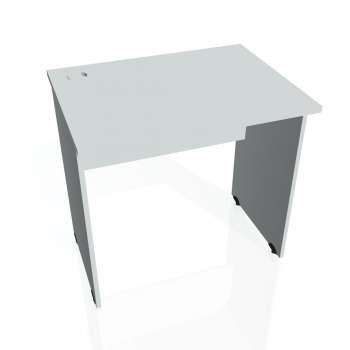 Psací stůl Hobis GATE GE 800, šedá/šedá