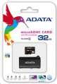 ADATA Micro SDHC 32GB Class 4 + USB čtečka