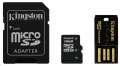 Kingston Micro SDHC 16GB Class 4 + čtečka a adaptér