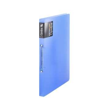 Dvoukroužkový pořadač Opaline - A4, hřbet 2 cm, modrá