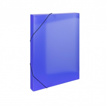 Plastový box  na spisy s gumičkou Opaline A4, modrá