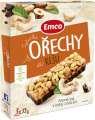 Tyčinka Emco s ořechy a kešu, 3x 35g