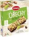 Tyčinky Emco - ořechy a pistácie, 3x 35g