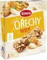 Tyčinka Emco s ořechy a medem, 3x 35g