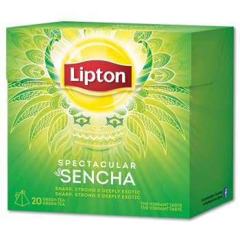 Zelený čaj Lipton Sencha, 20 x 1,8 g