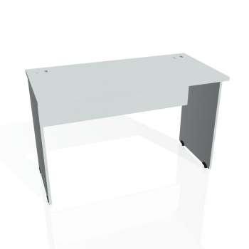 Psací stůl Hobis GATE GE 1200, šedá/šedá