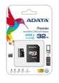 ADATA Micro SDHC Premier 16GB UHS-I A1 + SD adaptér