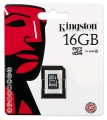 Kingston 16GB MicroSDHC karta, Class 4