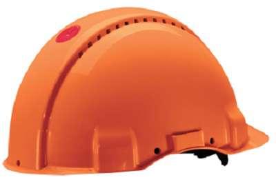 Ochranná přilba Peltor G3000 oranžová