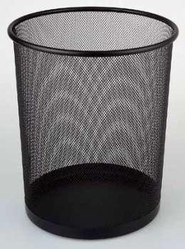 Odpadkový koš Office Depot - drátěný, černý, objem 13 l