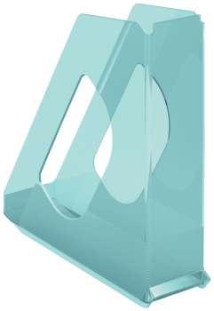 Stojan na časopisy Esselte Colour'Ice, ledově modrá