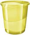 Odpadkový koš Esselte Colour'Ice, ledově žlutá