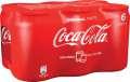 Coca Cola - 6x 0,15 l, plech