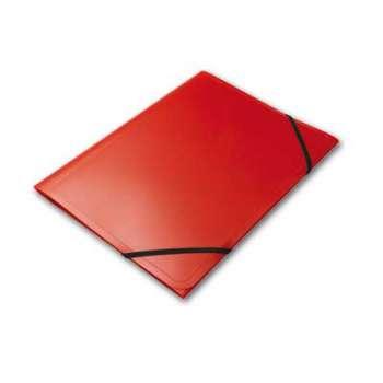 Desky na dokumenty s gumičkou Office Depot - A4, červená , 5 ks