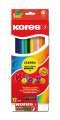 Trojhranné pastelky Kolores, 12 barev