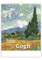 Nástěnný kalendář  Vincent van Gogh