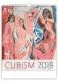 Nástěnný kalendář  Cubism