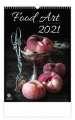 Nástěnný kalendář  Food Art