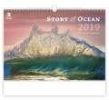 Nástěnný kalendář  Story of Ocean