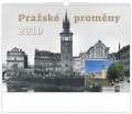 Nástěnný kalendář  Pražské proměny