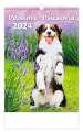 Nástěnný kalendář  Pejskové/Psíčkovia