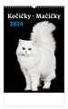Nástěnný kalendář  Kočičky/Mačičky