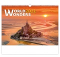 Nástěnný kalendář  World Wonders