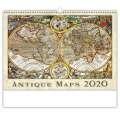 Nástěnný kalendář  Antique Maps