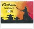 Nástěnný kalendář  Christianův kouzelný svět