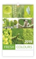 Nástěnný kalendář  Fresh Colours
