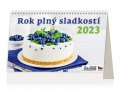 Stolní kalendář Rok plný sladkostí