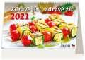 Stolní kalendář Zdravě jíst, zdravě žít