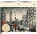 Dřevěný obrazový kalendář 2020 - London