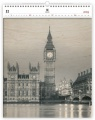 Nástěnný kalendář  Big Ben