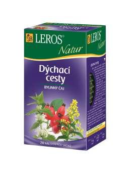 Čaj Leros Bylinný Natur Nachlazení, chřipka - 20 x 1,5 g