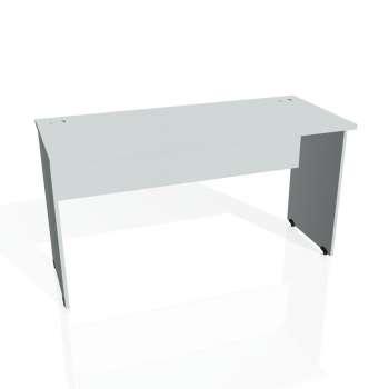 Psací stůl Hobis GATE GE 1400, šedá/šedá