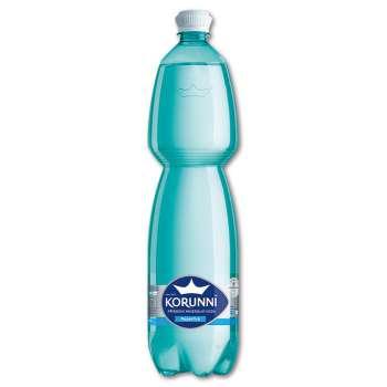 Minerální voda Korunní - neperlivá, 6 x 1,5 l