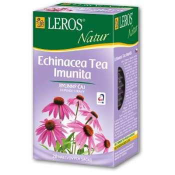 Čaj Leros Bylinný Natur Echinacea Imunita - 20 x 2 g