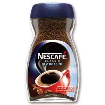 Káva instantní Nescafé bez kofeinu - 100 g