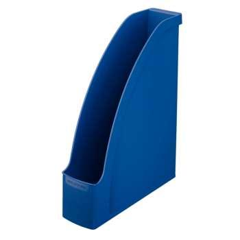 Stojan na časopisy LEITZ PLUS - plastový, tmavě modrá