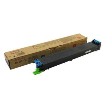 Toner Sharp MX-31GTCA - azurová