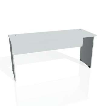 Psací stůl Hobis GATE GE 1600, šedá/šedá